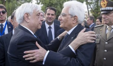 Visita del Presidente Mattarella in Grecia