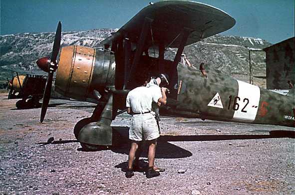 Gli aerei della Regia Aeronautica in Egeo