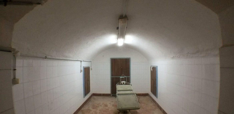 I tunnel dell'Ospedale di Leros